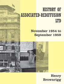 "The cover of the ""History of Associated-Rediffusion 1954-1959"""