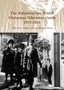 "The cover of ""The British Christmas Television Guide 1937-2013"""
